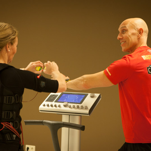 BodyTec training met Branko